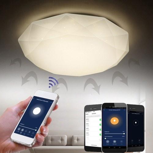 Smart WiFi Deckenleuchte 48W stufenlose dimmbare LED-Leuchten Cloud Intelligence APP Fernbedienung