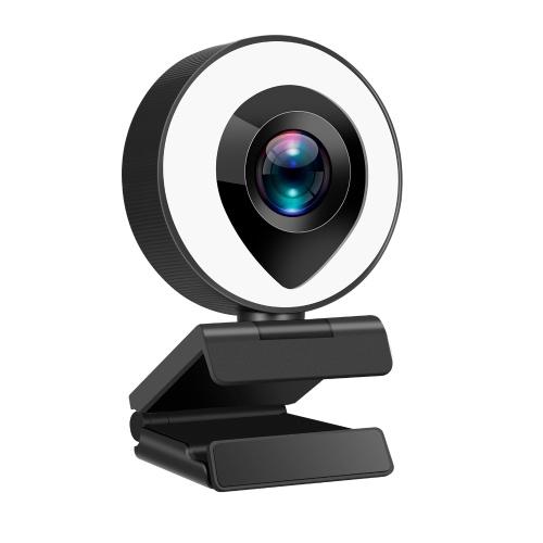 1080PフルHDウェブカメラUSBコンピューターカメラ