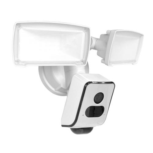 Камера видеонаблюдения с прожектором 1080P HD Беспроводная Wi-Fi домашняя камера видеонаблюдения