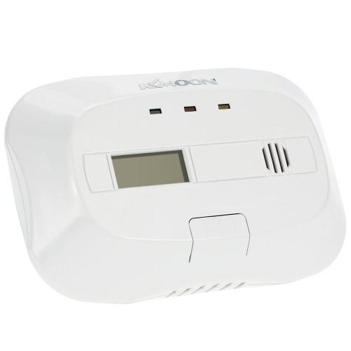 KKmoon CO Kohlenmonoxid Alarm führte Vergiftung Gas-Sensor Feuchtigkeitsmesser Warnung