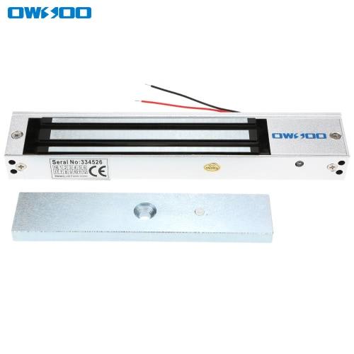 OWSOO 280KG 600lbsドアのアクセスコントロールシステム電磁石フェールセーフNCモードの保持力電気磁気ロック
