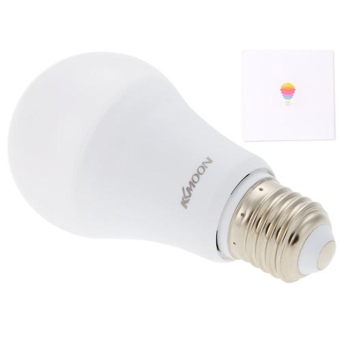 KKmoon E26 / E27 7W Bluetooth Smart LED-Farben-Birnen-Lampe Android / IOS Telefon APP Steuerung