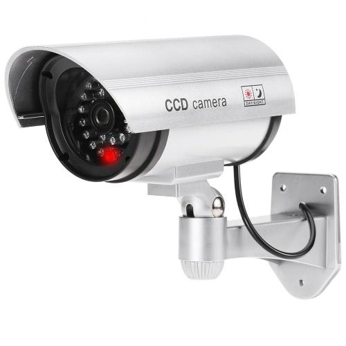 Simulação da bala de pistola Fake Dummy CCTV Camera