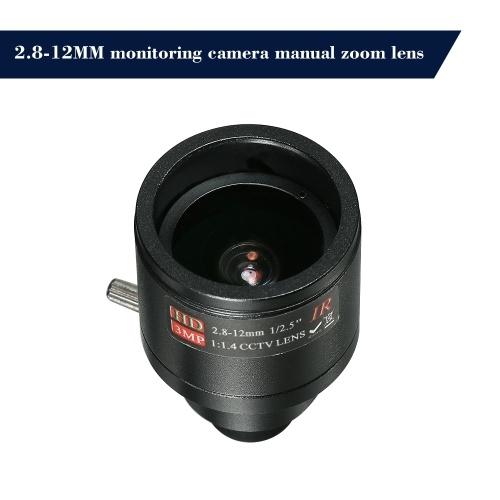M12 HD 2.8-12mm 3MP F1.4 Manual Focus Fixed Iris S2028