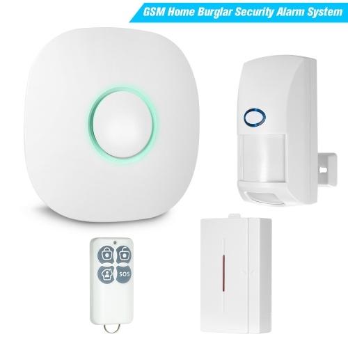 Motion Sensor Detector Wireless GSM SMS Home Burglar Security Alarm System