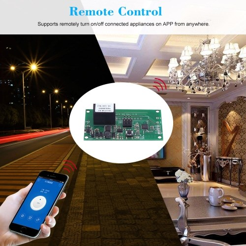 Sonoff SV ITEAD Safe Voltage DC 5-24V WiFi Wireless Switch Module