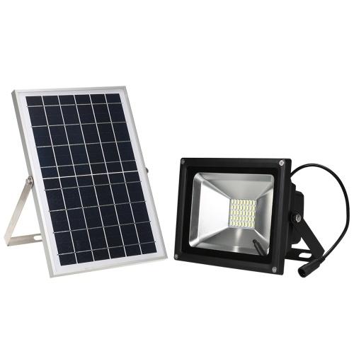 ソーラーライト(内蔵3.7V 8000mAhリチウム電池)リモコン付