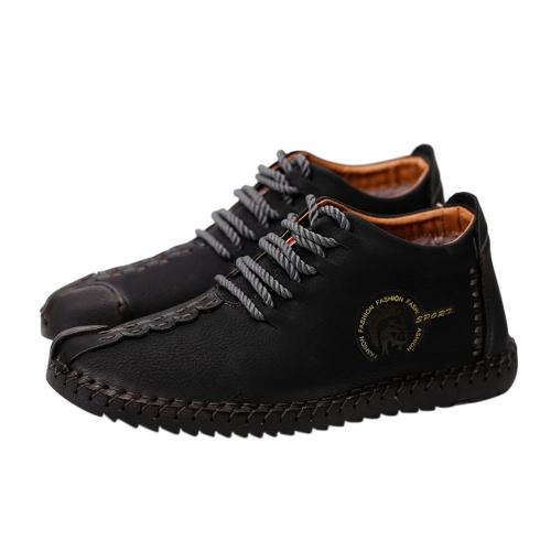 Zapatos de cuero ocasionales calientes respirables retros del terciopelo