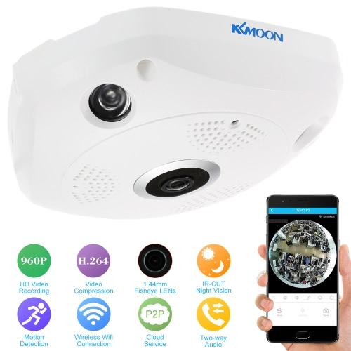 KKmoon 960P HD 360 Degree Wireless Wifi VR IP Camera Full View