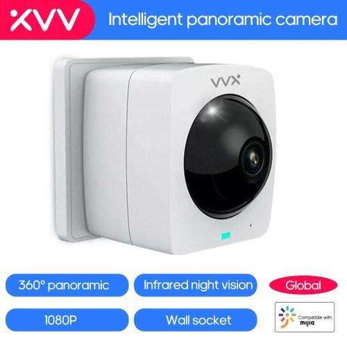 Global Xiaomi Xiaovv Camera Уличная панорамная IP-камера высокого разрешения 360 ° Камеры ночного видения