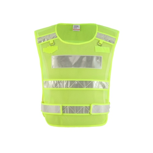 SFVest High Visibility Reflective Safety Vest Antifreeze Workwear Working Clothes Cold-resistant Reflective Vest Low temperature Security Clothing Day Night Motorcycle Cycling Warning Safety Waistcoat