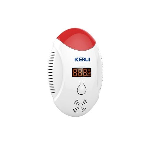 KERUI CD17W Wireless CO Gas Sensor Carbon Monoxide Leak Detector