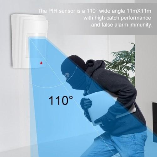 Anti-Pet PIR Motion Sensor Wired Alarm Dual Infrared Detector Pet Immune For Home Burglar Security Alarm System