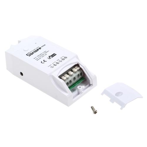 Image de SONOFF TH16 16A / 3500W Smart Wifi Commutateur Surveillance Température Humidité Sans Fil Home Automation Kit Fonctionne avec Amazon Alexa et pour Google Home / Nest