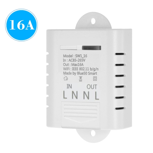 WIFI Smart Switch 16A Wireless Licht Timer Switch