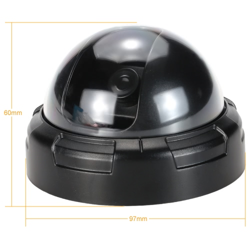 Simulation-Dome-Kamera-Fälschungs-blinde rote LED-Blinkleuchten für CCTV-Sicherheitssystem
