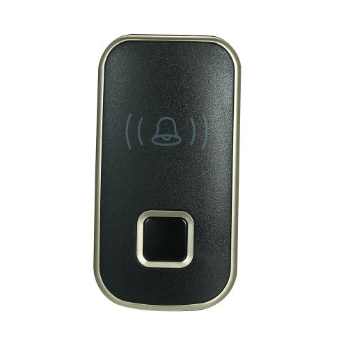 ワイヤレスミニサイズのドアベル屋外プッシュボタン