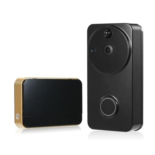 720P WiFiビジュアルインターコムドア電話2ウェイオーディオビデオドアベル