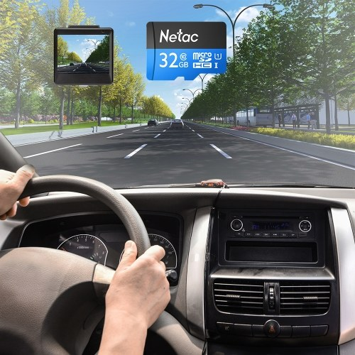 Netac P500 Class 10 32G Micro SDHC TF Flash Memory Card Data Storage UHS-1 High Speed Up to 80MB/s