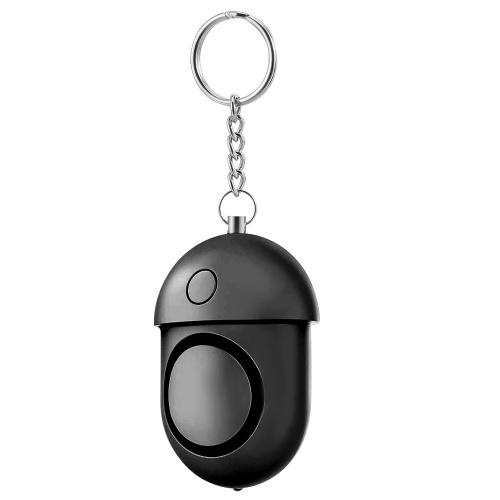Alarme Pessoal / 125-130dB Alarme Som Seguro de Segurança de Auto-Defesa de Emergência / Keychain / Lanterna LED