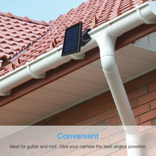 Gutter Mount Holder for Ring Solar Panel Outdoor Best Angle Wall Mount Bracket Ring Solar Panel Acce