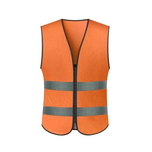 SFVest Hohe Sichtbarkeit Reflektierende Sicherheitsweste Arbeitskleidung Arbeitskleidung Reflektierende Weste Sicherheitskleidung Tag Nacht Motorrad Radfahren Warnweste