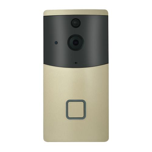 HD 720P WIFIビジュアルインターホンドアホンワイヤレスビデオドアベル8G TFカード内蔵