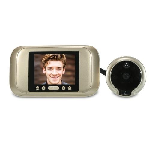 """無線デジタルのぞき窓のドアの視聴者3.2 """"TFT LCDのモニター"""