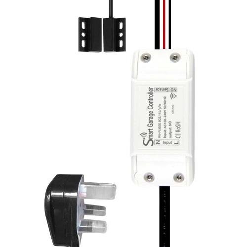 WIFI Intelligente Garagentoröffner Controller Aufzug Schalter Handy APP Fernbedienung Zeitschaltuhr Funktioniert mitAlexa Google Home