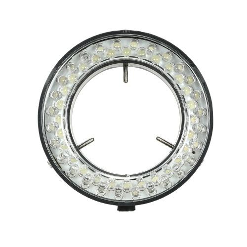 Lampe d'éclairage à anneau réglable à 56 DEL
