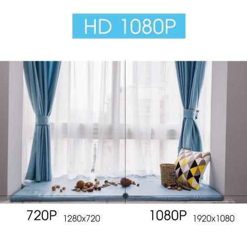 HD 1080P Wireless WIFI Dome PTZ IP Camera