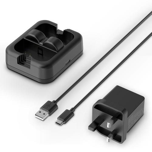 充電ステーションドアベル充電器ダブルプラグチャージャー付きリングビデオドアベル2 /リングスポットライトカムバッテリー/リングスポットライトカムソーラー/全く新しいリングスティックアップカムバッテリー安定した出力