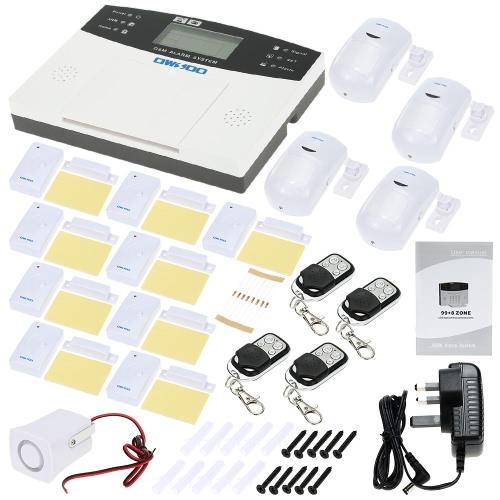 OWSOO GSM Wireless Home Haus Einbrecher Sicherheit Alarm System SMS Alarm PSTN Auto Dialer