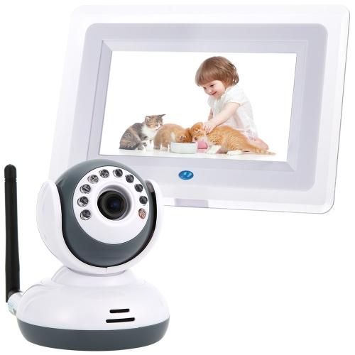 7inch 2.4GHz drahtloser Baby-Monitor + Kamera