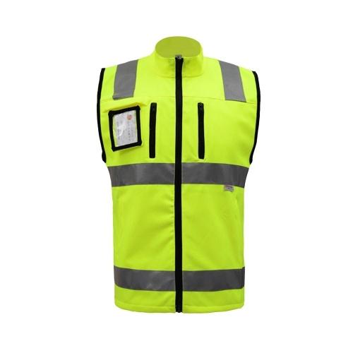 SFVest Alta Visibilidade Reflexivo Colete de Segurança Colete Refletivo Multi-bolsos Workwear Segurança Roupas de Trabalho Dia Noite Aviso de Segurança Da Motocicleta Ciclismo Colete