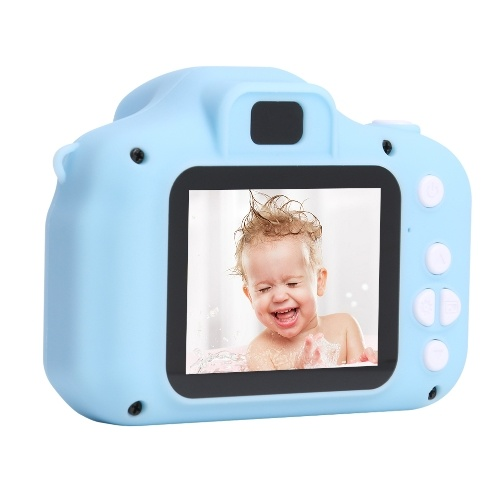 """2 """"Экран HD 1080P 2 млн. Пикселей. Фотосъемка видеозаписей для детей. Милый мультфильм."""