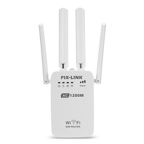1200Mbps WiFiルーターデュアルバンド2.4 / 5GワイヤレスレンジエクステンダーAUプラグ