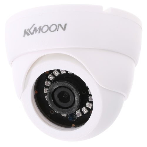 KKmoon 720P 1500TVL Dome AHD Surveillance Camera 1.0MP CCTV Segurança 1/4 ''-CUT IR Sistema Indoor 18 IR Lâmpadas Night Vision CMOS NTSC
