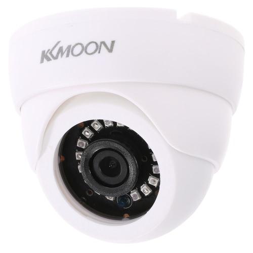 KKmoon 720P 1500TVLドームAHD監視カメラ1.0MP CCTVセキュリティ屋内18 IRランプナイトビジョン1/4 '' CMOS IR-CUT NTSCシステム