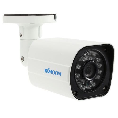 KKmoon 960P AHD CCTV-Kugelkamera 1,3 MP 3,6 mm 1/4 '' CMOS 24 IR-Lampen-Nachtsicht IR-CUT Wasserdichte Indoor Outdoor Home Security PAL-System