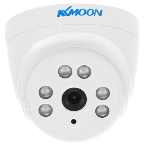 KKmoon 720P 1500TVL Dome AHD Surveillance Camera 1.0MP 3,6 milímetros 1/4 '' CMOS 6 matriz IR Lâmpadas Night Vision IR-CUT interior do sistema de segurança CCTV NTSC