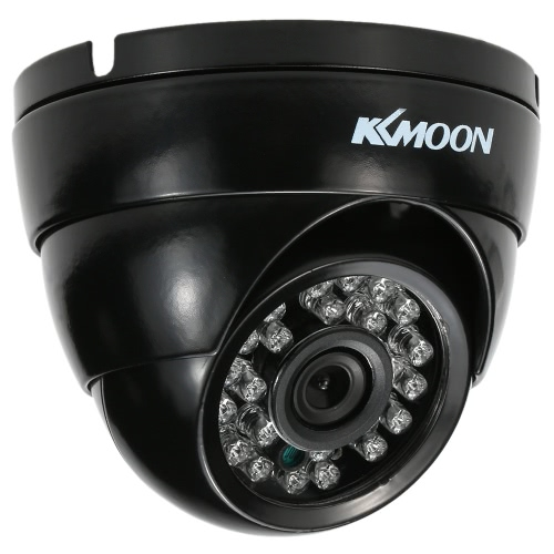 KKmoon 1080P 2.0MP AHD Dome Surveillance Camera 3.6mm 1/3? CMOS 24 IR Lamps Night Vision IR-CUT Waterproof Indoor Outdoor CCTV Security NTSC System