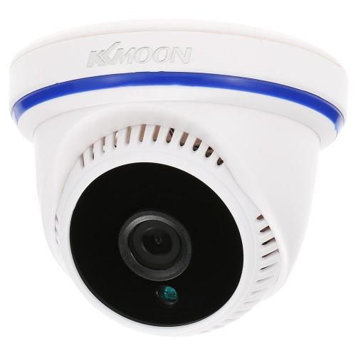 KKmoon® AHD 720P 1500TVL Megapixel CCTV-Sicherheits-Überwachung Innenhaube-Kamera-Unterstützung IR-CUT Nachtsicht-Plug-Filter und 24 LEDs spielen