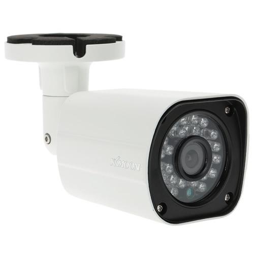 KKmoon® AHD 960P 1600TVL Megapixeln CCTV-Sicherheits-Überwachung im Freien Innenkugel-Kamera Unterstützung wetter IR-CUT Nachtsicht-Plug-Filter und 24 LEDs spielen