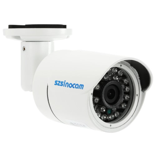 szsinocam  1080P AHD CVI TVI Analog (CVBS) Bullet CCTV Camera OSD Menu 2.0MP 1/2.7'' CMOS 24 IR LEDs IR-CUT Night Vision Waterproof Home Security NTSC System