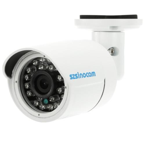 szsinocam 1500TVL 720P AHD CVI TVI Analog (CVBS) Gewehrkugel CCTV-Kamera-OSD-Menü 1.0MP 24 IR-LEDs 1/4 '' CMOS-IR-CUT Nachtsicht wasserdicht Home Security PAL-System