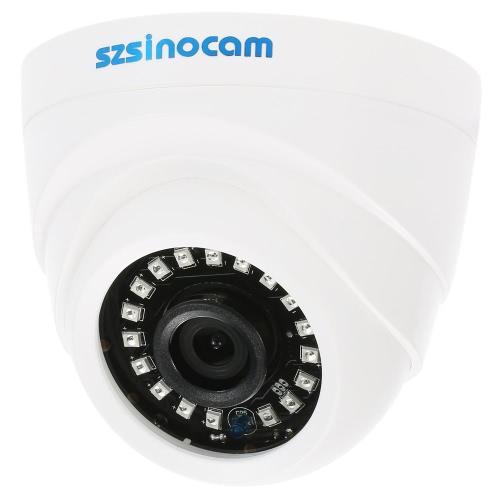 szsinocam 1500TVL 720P AHD CVI TVIアナログ(CVBS)ドームCCTVカメラOSDメニュー1.0MP 1/4 '' CMOS 3.6ミリメートル18 IR LEDのIR-CUTナイトビジョンホームセキュリティPALシステム