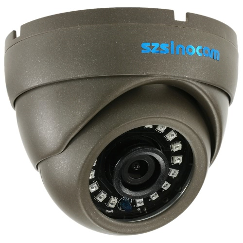 szsinocam 1080P AHD CVI TVI Analog (CVBS) de Metal Dome CCTV Camera menu OSD 2.0MP 1 / 2.7 '' CMOS 3,6 milímetro 18 LEDs IR Sistema de Segurança NTSC Waterproof IR-CUT Night Vision