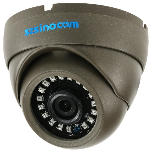 szsinocam 1500TVL 720P AHD CVI TVI Analog (CVBS) de Metal Dome CCTV Camera menu OSD 1.0MP 1 / 4''CMOS 3,6 milímetro 18 LEDs IR Sistema de Segurança NTSC Waterproof IR-CUT Night Vision