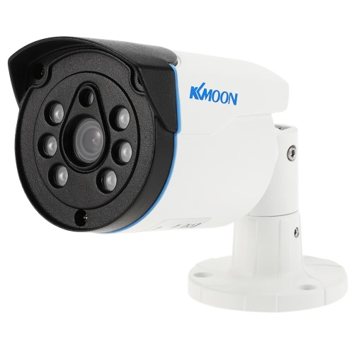 KKmoon 960P AHD Bullet Surveillance Waterproof Camera 1.3MP 3.6mm 1/4? CMOS 6 Array IR LEDs Night Vision IR-CUT Indoor Outdoor CCTV Security PAL System